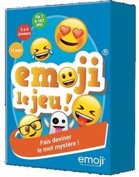 Auzou - Emoji le jeu ! - Fais deviner le mot mystère ! Avec 1 sablier, des cartes.