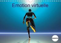 K.a. Redinard - Emotion virtuelle (Calendrier mural 2020 DIN A4 horizontal) - Créations imaginaires numériques (Calendrier anniversaire, 14 Pages ).