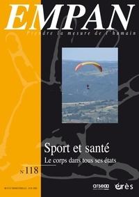 Hélène Berdoues et Alain Jouve - Empan N° 118, juin 2020 : Sport et santé - Le corps dans tous ses états.