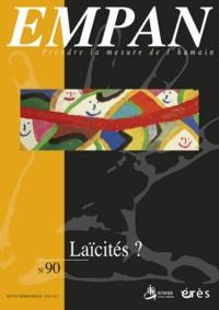 Marcel Drulhe et Martine Pagès - Empan N° 90, Juin 2013 : Laïcités ?.