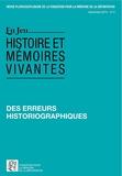 Thomas Fontaine et Bertrand Hamelin - En Jeu N° 2, décembre 2013 : Des erreurs historiographiques.