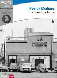Patrick Modiano - Encre sympathique. 1 CD audio MP3