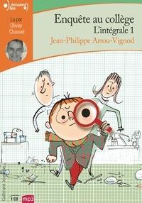 Jean-Philippe Arrou-Vignod - Enquête au collège Intégrale 1 : . 1 CD audio MP3