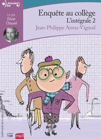 Jean-Philippe Arrou-Vignod - Enquête au collège Intégrale 2 : . 1 CD audio MP3