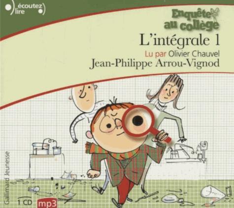 Jean-Philippe Arrou-Vignod - Enquête au collège Intégrale Tome 1 : . 1 CD audio MP3