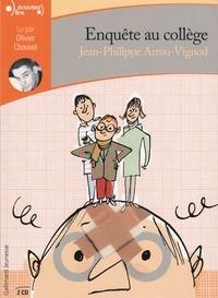 Jean-Philippe Arrou-Vignod - Enquête au collège  : . 2 CD audio