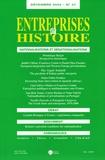Dominique Barjot et Pierre Lanthier - Entreprises et Histoire N° 37, Décembre 2004 : Nationalisations et dénationalisations.