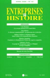 Anne Rivière et Loïc Damiani - Entreprises et Histoire N° 42, Avril 2006 : .