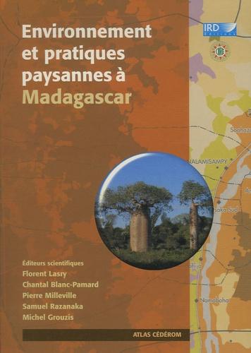 Florent Lasry et Chantal Blanc-Pamard - Environnement et pratiques paysannes à Madagascar - CD-ROM.