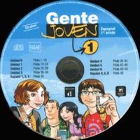 Encina Alonso - Espagnol 1re année Gente Joven 1. 5 CD audio