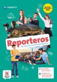 Maison des langues - Espagnol 3e A2 Reporteros. 1 DVD + 1 CD audio