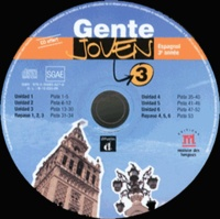 Encina Alonso - Espagnol 3e année Gente Joven 3. 5 CD audio