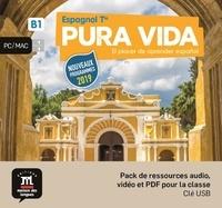 Maison des langues - Espagnol Tle B1 Pura vida. 1 Clé Usb