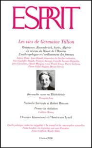Esprit - Esprit N° 262 Février 2000 : Les vies de Germaine Tillion.