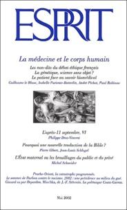 Esprit - Esprit N° 284 Mai 2002 : La médecine et le corps humain.