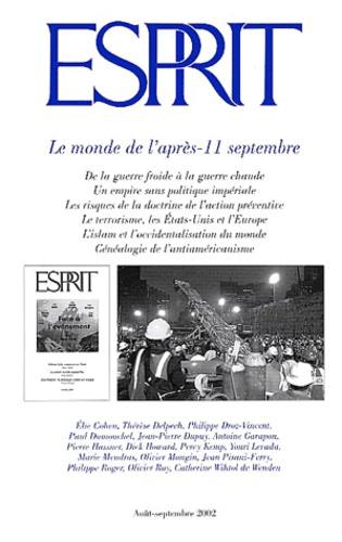 Esprit - Esprit N° 287, Août-Septemb : Le monde de l'après-11 septembre.