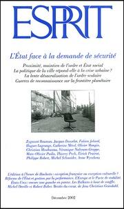 Esprit - Esprit N° 290 Décembre 2002 : L'Etat face à la demande de sécurité.