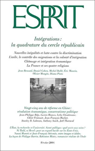 Jean Bensaid et Daniel Cohen - Esprit N° 302, Février 2004 : Intégrations : la quadrature du cercle républicain.