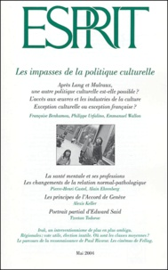 Marc-Olivier Padis et Philippe Urfalino - Esprit N° 304 Mai 2004 : Les impasses de la politique culturelle.