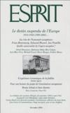 Gérard Bensussan et Abdennour Bidar - Esprit N° 310, Décembre 200 : Le destin suspendu de l'Europe.
