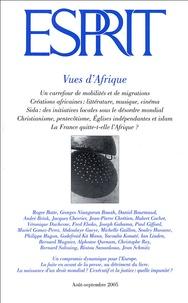 Roger Botte et Daniel Bourmaud - Esprit N° 317, Août-Septemb : Vues d'Afrique.