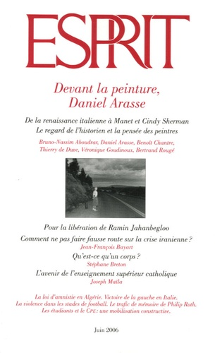 Bruno Nassim Aboudrar et Daniel Arasse - Esprit N° 325, Juin 2006 : Devant la peinture, Daniel Arasse.