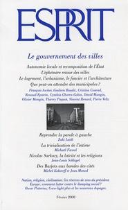 François Ascher et Michaël Foessel - Esprit N° 342, Février 2008 : Le gouvernement des villes.