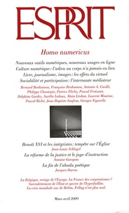 Marc-Olivier Padis - Esprit N° 353, Mars-avril 2 : Homo numericus.