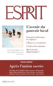 Alice Béja - Esprit N°412, février 2015 : L'avenir du pouvoir local.