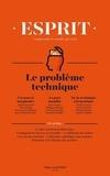 Anne-Lorraine Bujon - Esprit N° 433, Mars-Avril 2 : Repenser la technique.