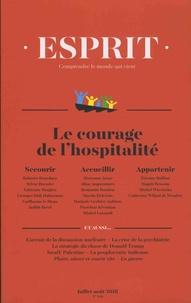 Anne-Lorraine Bujon - Esprit N° 446, juillet-août : Le courage de l'hospitalité.