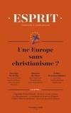 Anne-Lorraine Bujon - Esprit N° 449, novembre 201 : Une Europe sans christianisme ?.
