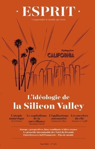 Anne-Lorraine Bujon - Esprit N° 454, mai 2019 : L'idéologie de la Silicon Valley.