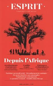 Anne-Lorraine Bujon - Esprit N° 466, juillet-août : Depuis l'Afrique.