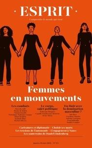Anne-Lorraine Bujon - Esprit N° 471, janvier-févr : Femmes en mouvements.