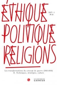 Ethique, politique, religions N° 10/2017-1.pdf