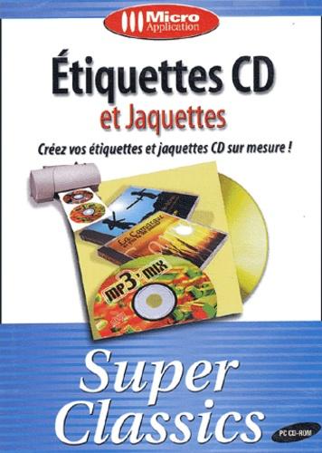 Etiquettes CD et jaquettes - CD-ROM de Collectif - Livre - Decitre
