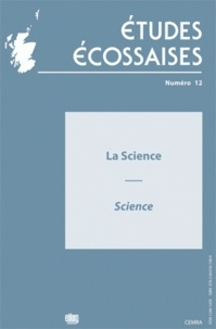 Ellug - Etudes écossaises N° 12/2009 : La science - Science.