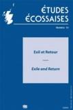 Ellug - Etudes écossaises N° 13/2010 : Exil et retour - Exile and Return.