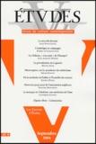 Jean-Yves Calvez - Etudes N° 3, Tome 401, Sept : .