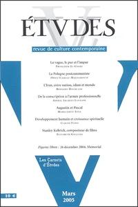 Bernard Hourcade et Jacques Lanxade - Etudes N° 4023, Mars 2005 : .