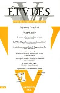 Pierre de Charentenay et Pierre Chaillot - Etudes N° 4053, Septembre 2 : .