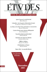 Henri Madelin et Horacio Arango - Etudes Tome 399 N° 5 Novemb : .