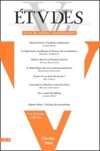 Joseph Maïla et Frédéric Charillon - Etudes Tome 400 N° 2 Févrie : .