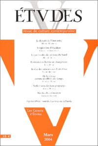 Henri Madelin et Christian Fournier - Etudes Tome 400, N°3, Mars : .