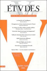 Etienne Klein et Sylvie Koller - Etudes Tome 401 N° 1-2 Juil : .