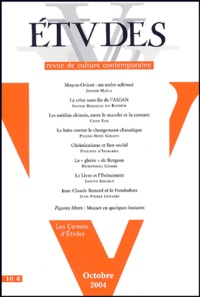 Joseph Maïla et Sophie Boisseau du Rocher - Etudes Tome 401 N°4 (4014) : .