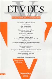 Henri Madelin et Michaël Amaladoss - Etudes Tome 401 N° 5 (4015) : .
