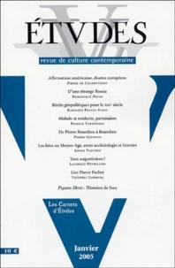 Pierre de Charentenay et Dominique David - Etudes Tome 402, n°1 (4021) : .