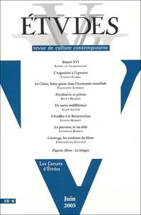 Pierre de Charentenay et Carlos Floria - Etudes Tome 402 N° 6 (4026) : .